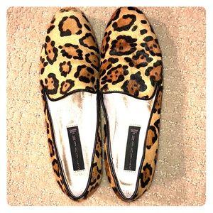 Steven Madden Cheetah Print Flats